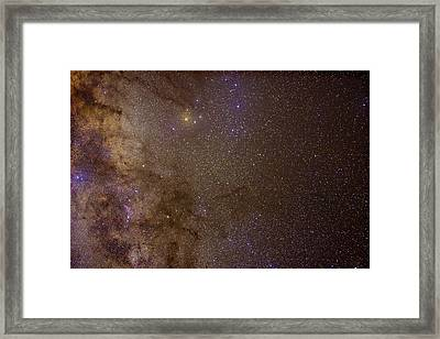 Framed Print featuring the photograph Southern Milky Way by Charles Warren