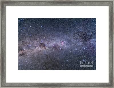 Southern Milky Way From Vela Framed Print