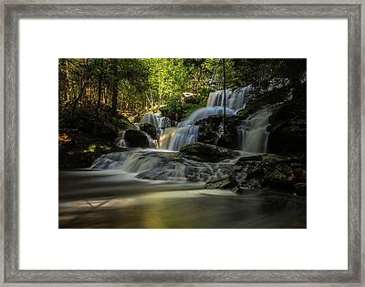 Framed Print featuring the photograph Southern New Hampshire Garwin Falls by Juergen Roth