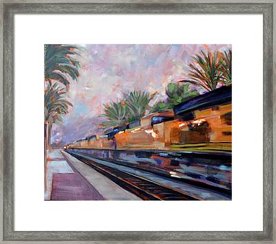 Southern Pacific Framed Print
