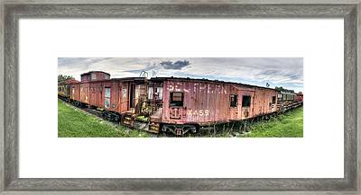 Southern Railroad Framed Print by Fred Baird