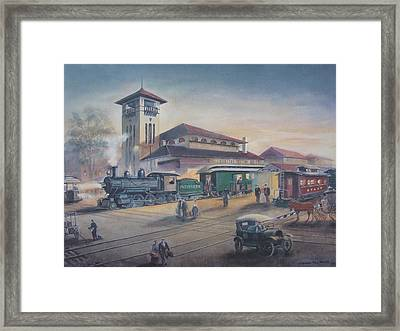 Southern Railway Framed Print by Charles Roy Smith