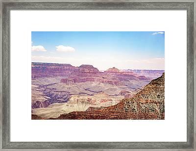 Southern Rim Framed Print
