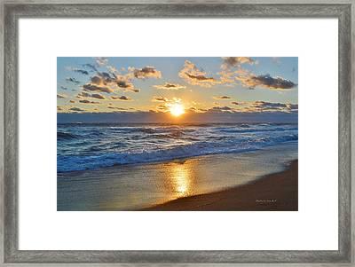 Southern Shores 10/18/15 Framed Print