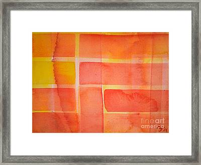 Southern Sun Framed Print