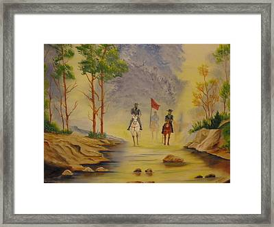 Southern Trails Framed Print by Ron Sargent