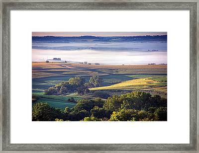 Southern View From Balltown Framed Print