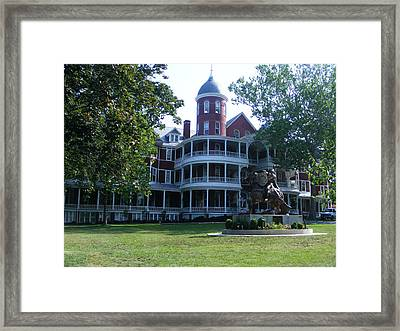 Southern Virgiinia College Framed Print by Eddie Armstrong