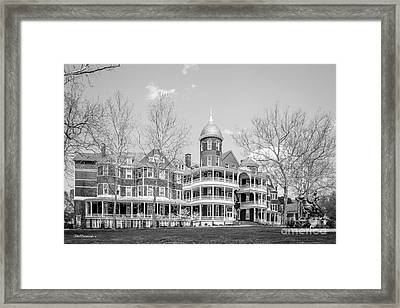 Southern Virginia University Main Hall Framed Print by University Icons