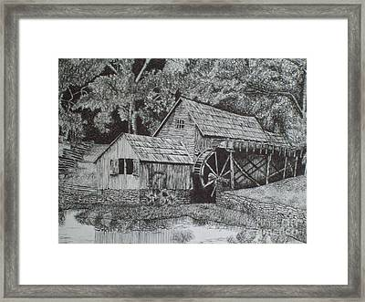 Southern Watermill Framed Print by Chris Shepherd
