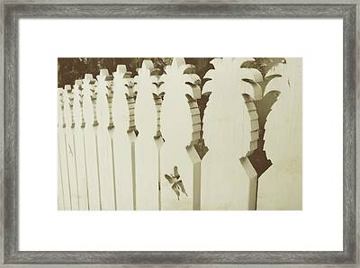 Southern Welcome Framed Print by JAMART Photography