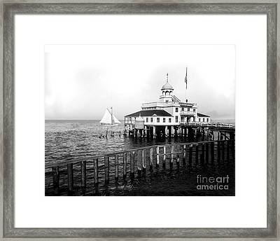 Southern Yacht Club  New Orleans Ca 1890 Framed Print