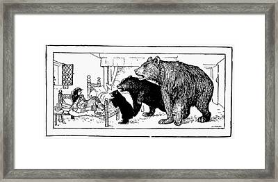 Southey: Three Bears, 1892 Framed Print by Granger