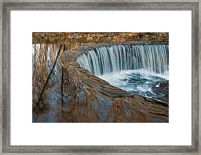 Southford Falls Framed Print