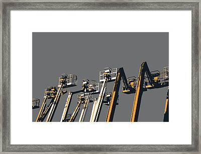 Southie Cherry Pickers Framed Print by Shay Culligan