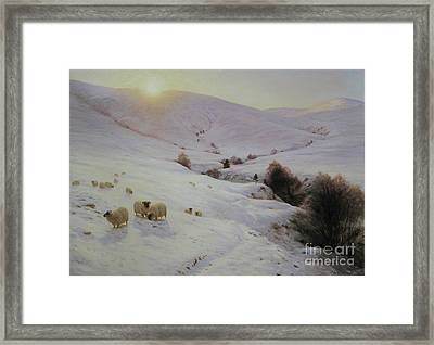 Southland Hills Framed Print by Celestial Images