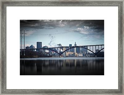 Southside And The High Bridge Framed Print