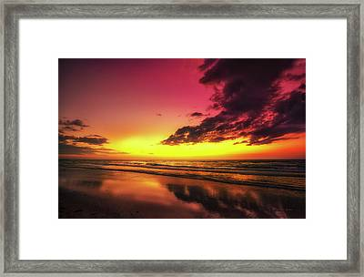 Southside Of Paradise Framed Print