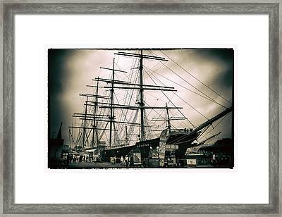 South Street Seaport Framed Print