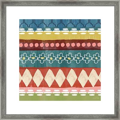 Southwest 3- Art By Linda Woods Framed Print