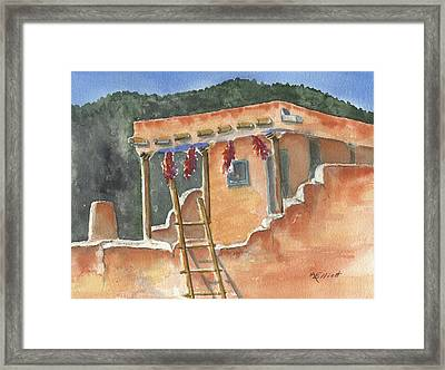 Southwest Adobe Framed Print