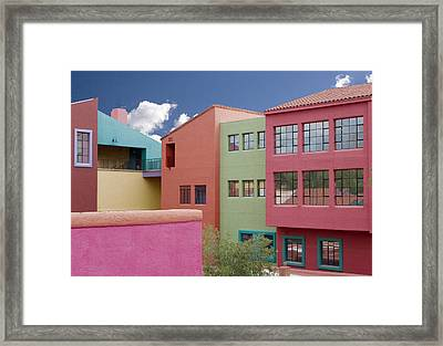 Southwest Colors Framed Print