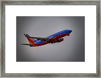 Southwest Departure Framed Print