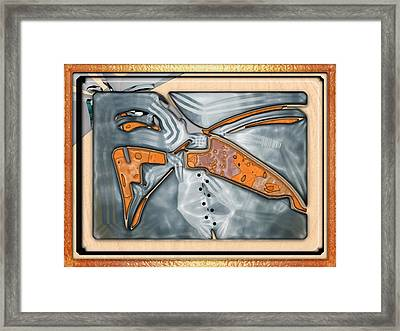 ' Southwest Design Concept ' Framed Print