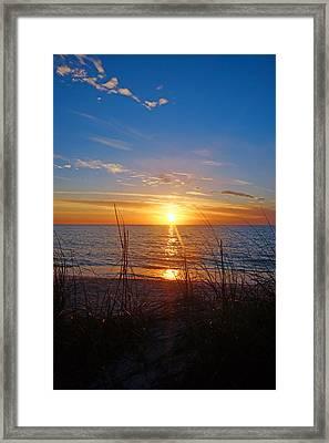 Southwest Florida Sunset Framed Print