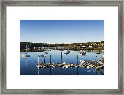 Southwest Harbor Maine Framed Print by John Greim