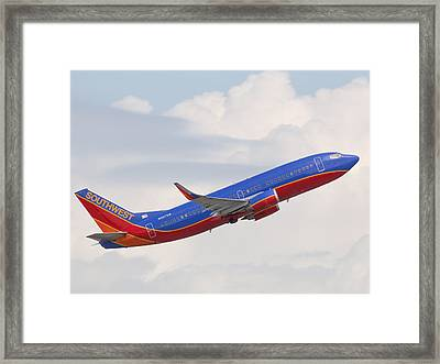 Southwest Jet Framed Print