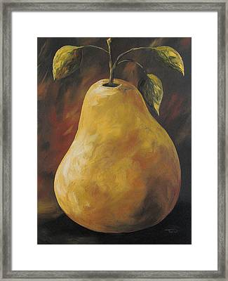 Southwest Pear Framed Print