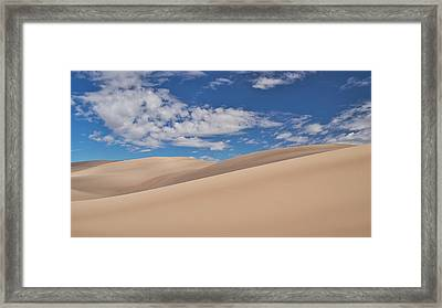 Southwest Sands Of Colorado Framed Print