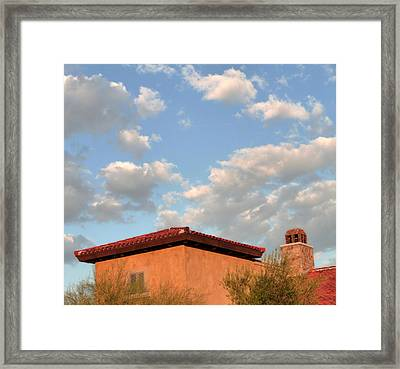 Southwest Skyscape Framed Print