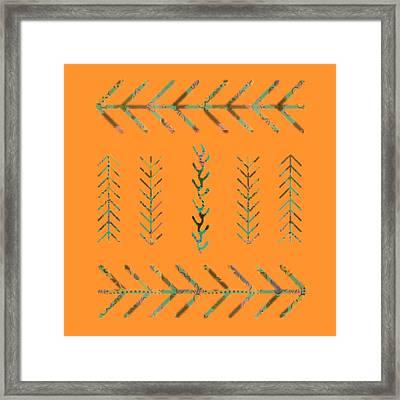 Southwest Spring Framed Print by Bonnie Bruno