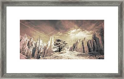 Southwest Vista Framed Print by Jim Cook