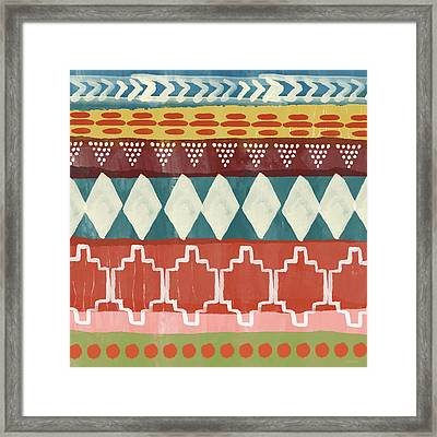 Southwestern 1- Art By Linda Woods Framed Print