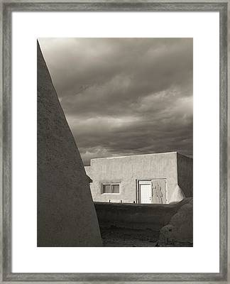 Framed Print featuring the photograph Southwestern Skies by Heidi Hermes