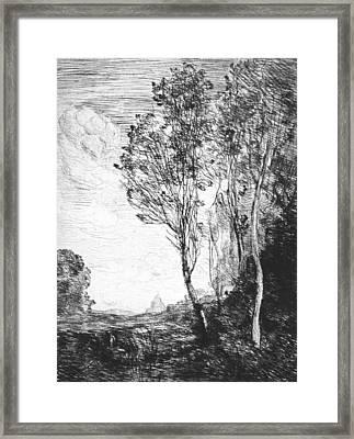 Souvenir Of Italy Framed Print