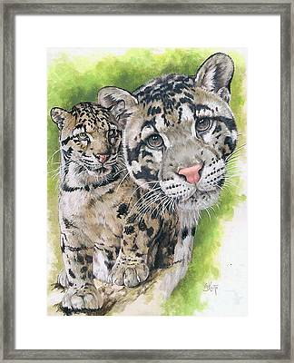 Sovereignty Framed Print by Barbara Keith