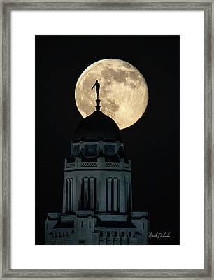 Sower's Moon Framed Print