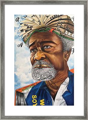 Soyinka An African Literary Icon Framed Print