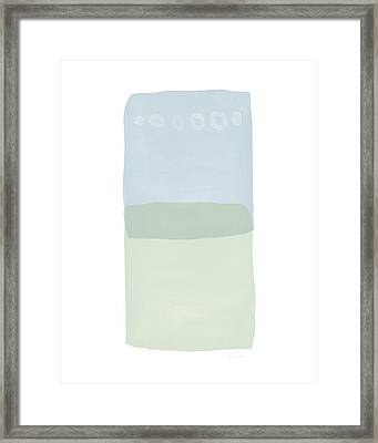 Spa 1- Art By Linda Woods Framed Print