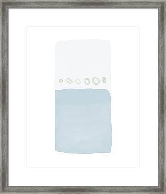 Spa 2- Art By Linda Woods Framed Print