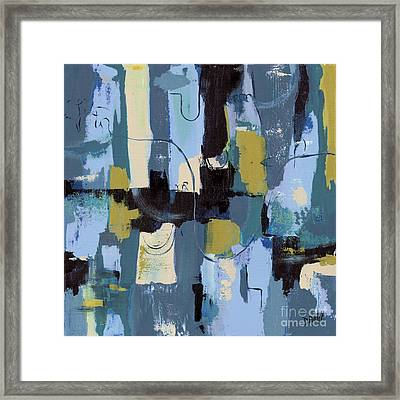 Spa Abstract 2 Framed Print by Debbie DeWitt