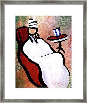Spa Day Framed Print