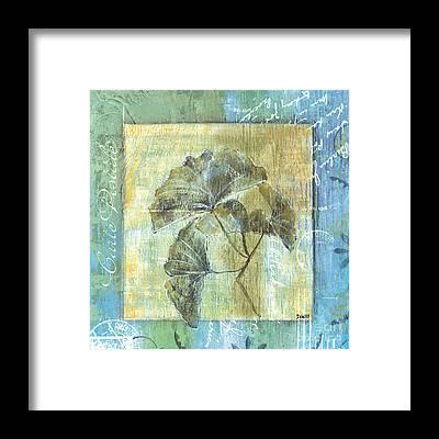 Gingko Framed Prints