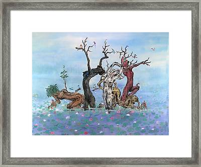 Spa Framed Print by Ying Wong