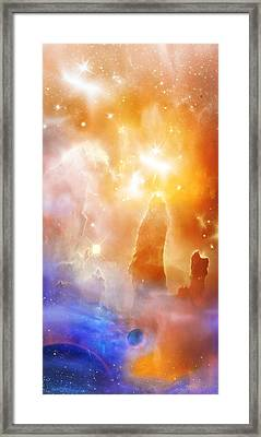 Space 007 Framed Print