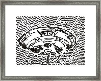 Space 2 2015 - Aceo Framed Print